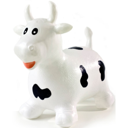 babyGO Bouncer - Skippy dier, Koe, wit
