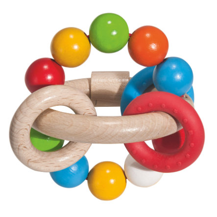 Eichhorn Baby 3D Grijpring