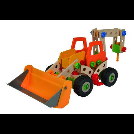 Eichhorn Jeu de construction enfant pelleteuse bois