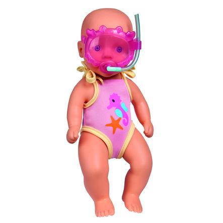 Simba New Born Baby Lalka do kąpieli