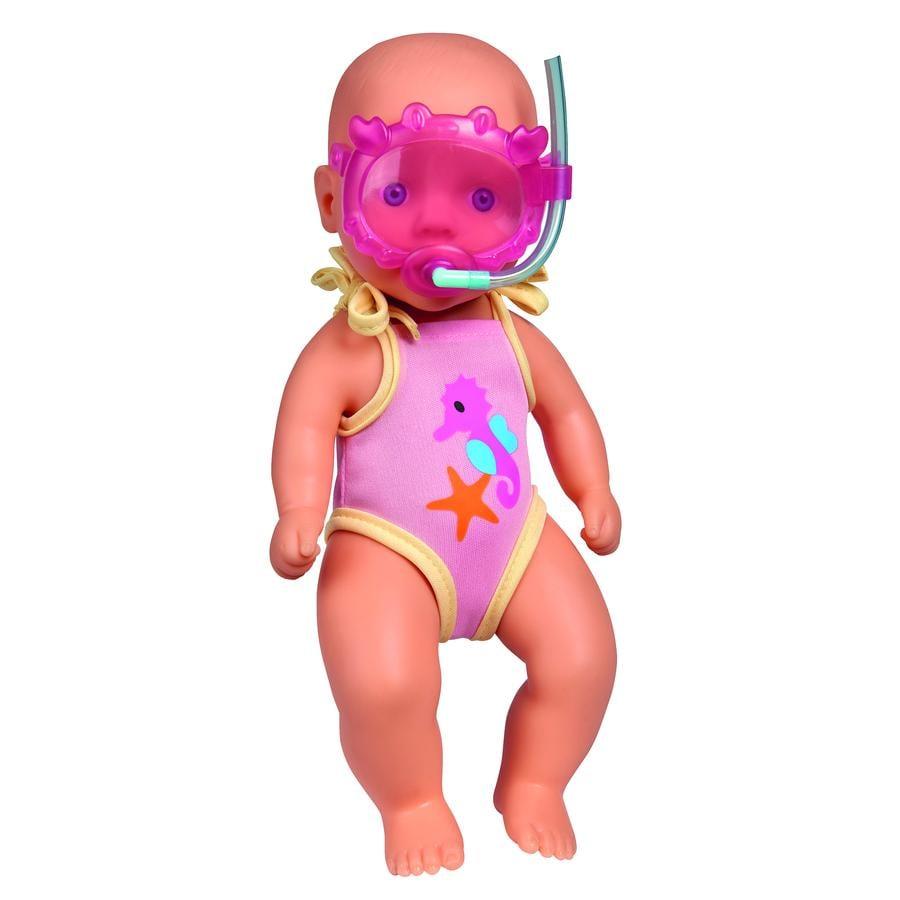 Simba Poupée de bain New Born Baby 30 cm
