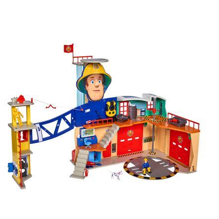 SIMBA Brandweerman Sam Mega-brandweerkazerne XXL