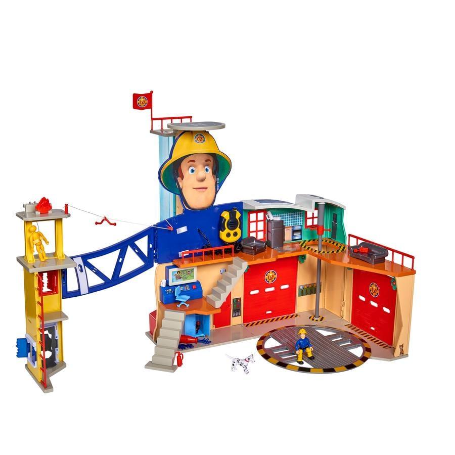 Simba Brandman Sam - Mega brandkårstation XXL