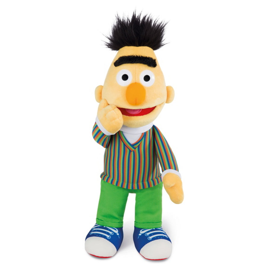 NICI Sesame Street hyggeligt legetøj Bert 35 cm slank 43508