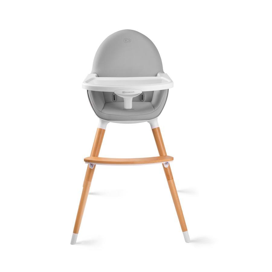 Kinderkraft højstol Fini grå