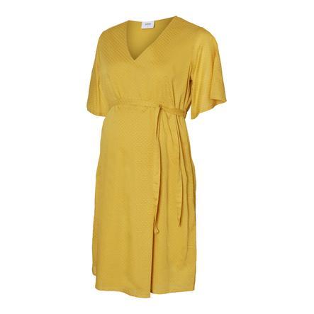 mama;licious Těhotenské šaty MLSALLY Nugget Gold