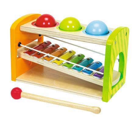 Eichhorn Xylophone banc à marteler color