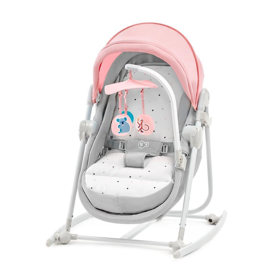Kinderkraft 5v1 lehátko Unimo pink