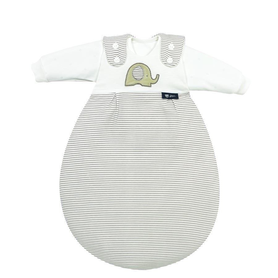 Alvi Saco de dormir Baby-Mäxchen® - Edición súper suave 3 piezas Talla 50/56 - Elefante