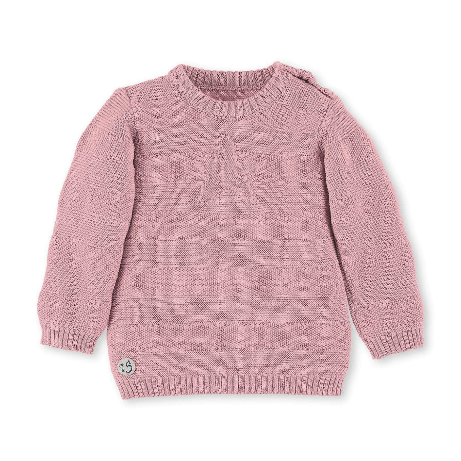 Sterntaler Camisa de punto rosa