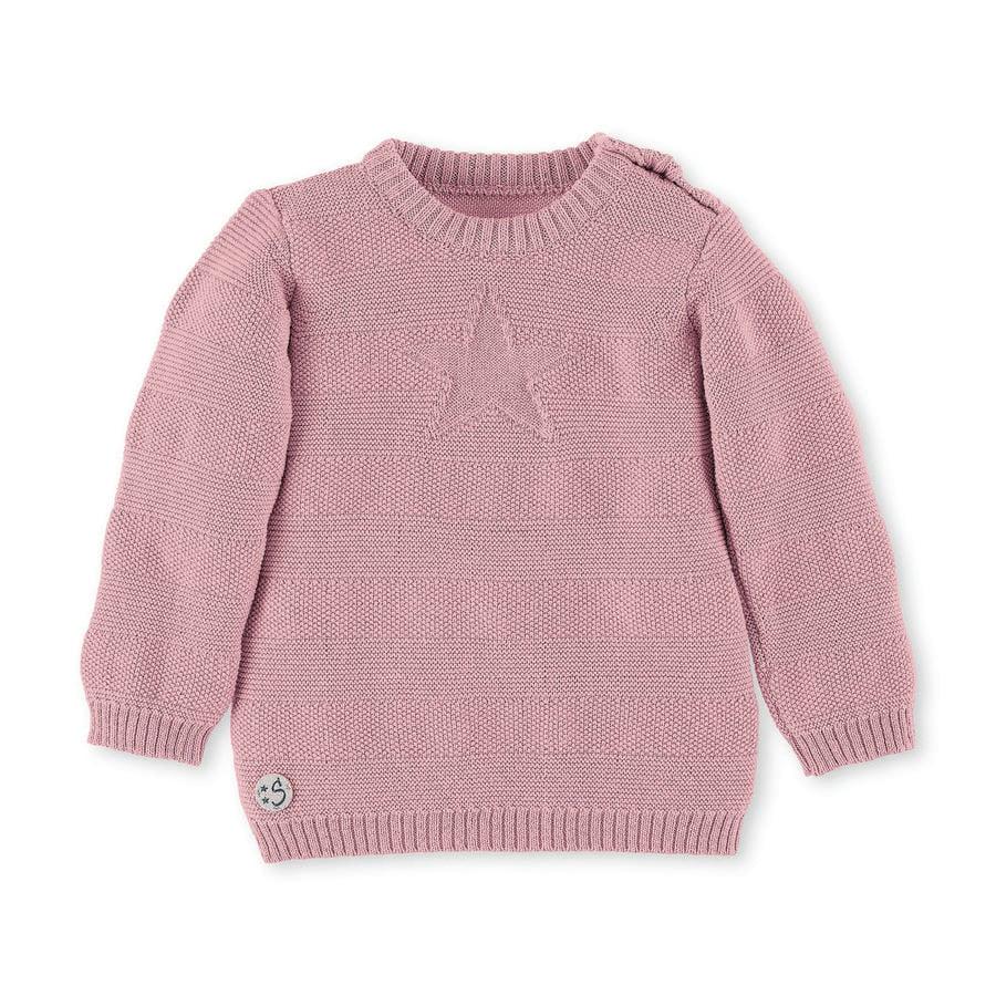 Sterntaler strikkegenser rosa