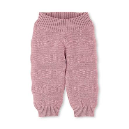 Sterntaler Pantalon tricoté rose