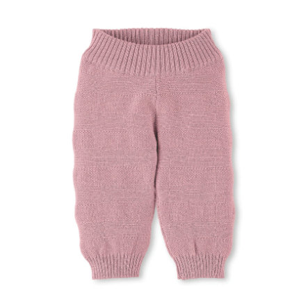 Sterntaler Pantalones de punto rosa
