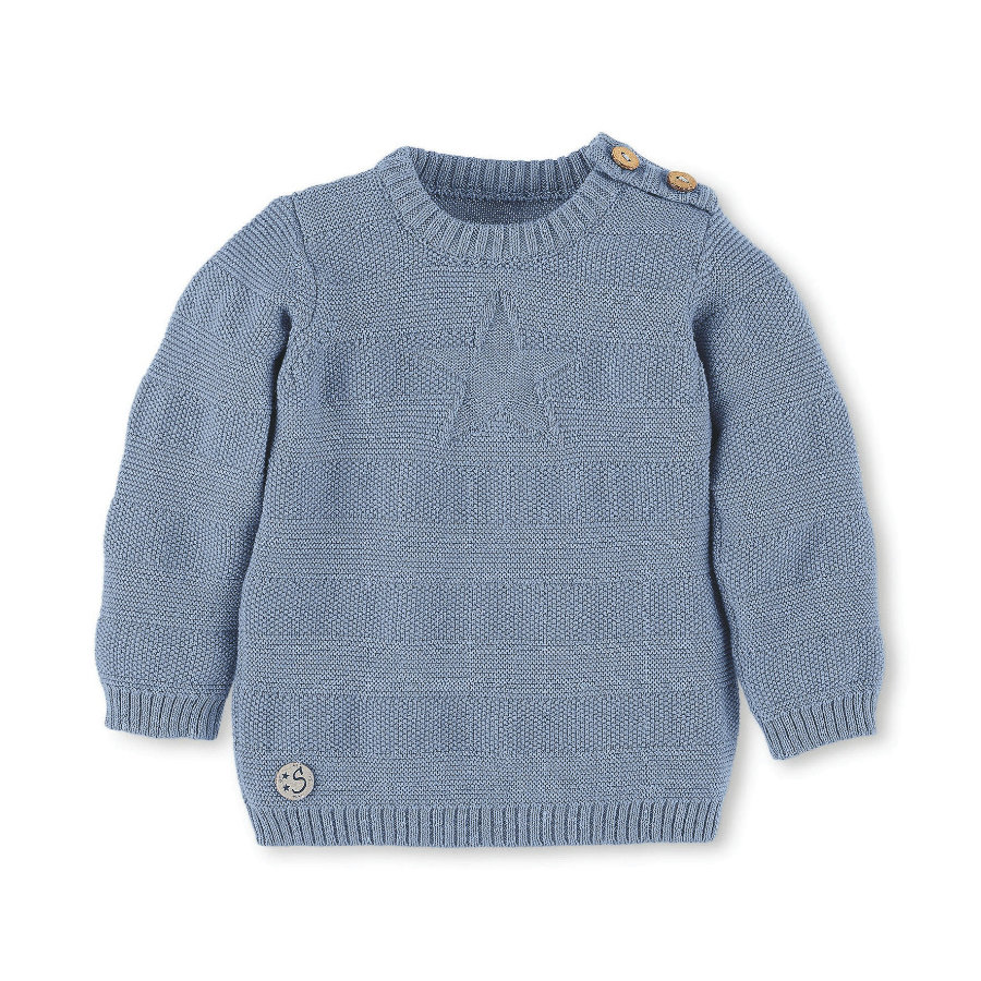 Sterntaler svetr z úpletu bleu