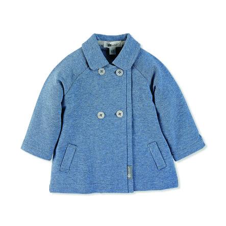 Sterntaler Girl s Baby Jacket Sweat średnio-niebieski melange