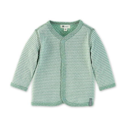 Sterntaler Veste réversible bébé vert clair