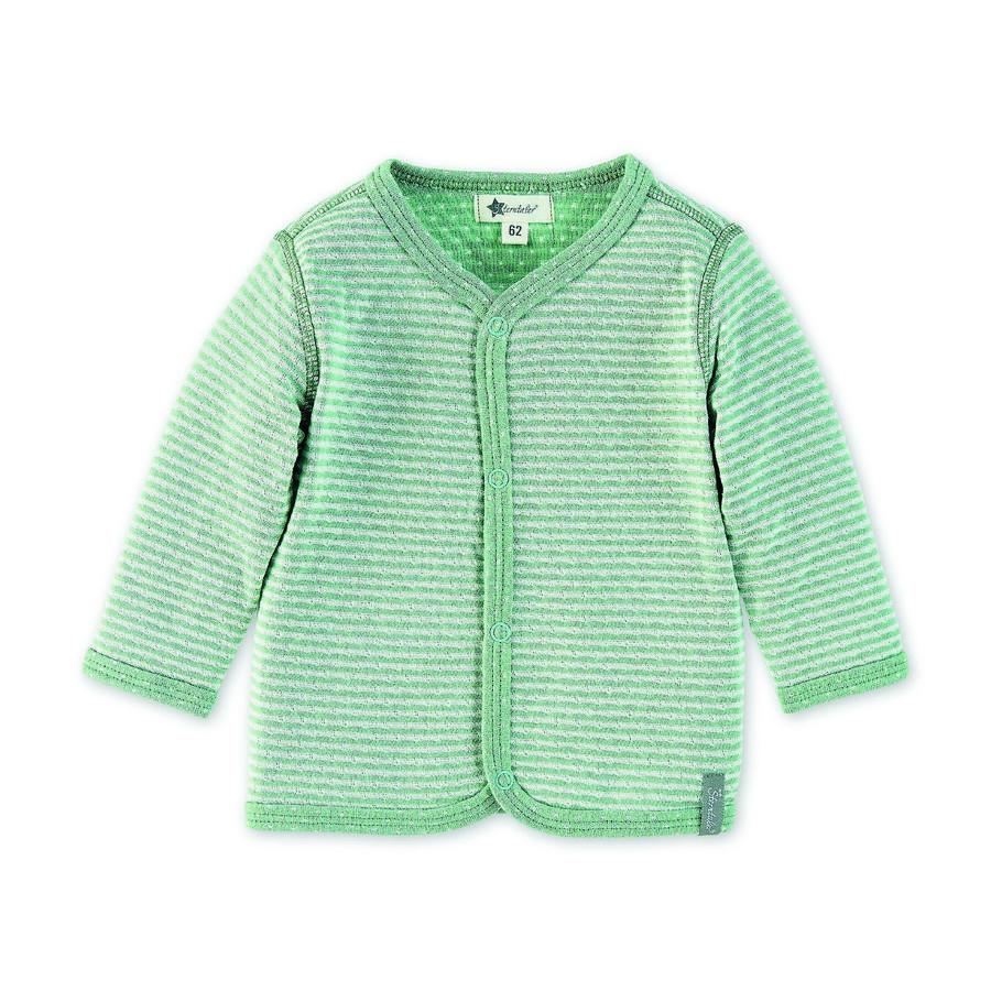 Sterntaler Odwracalna kurtka dla niemowląt jasnozielona