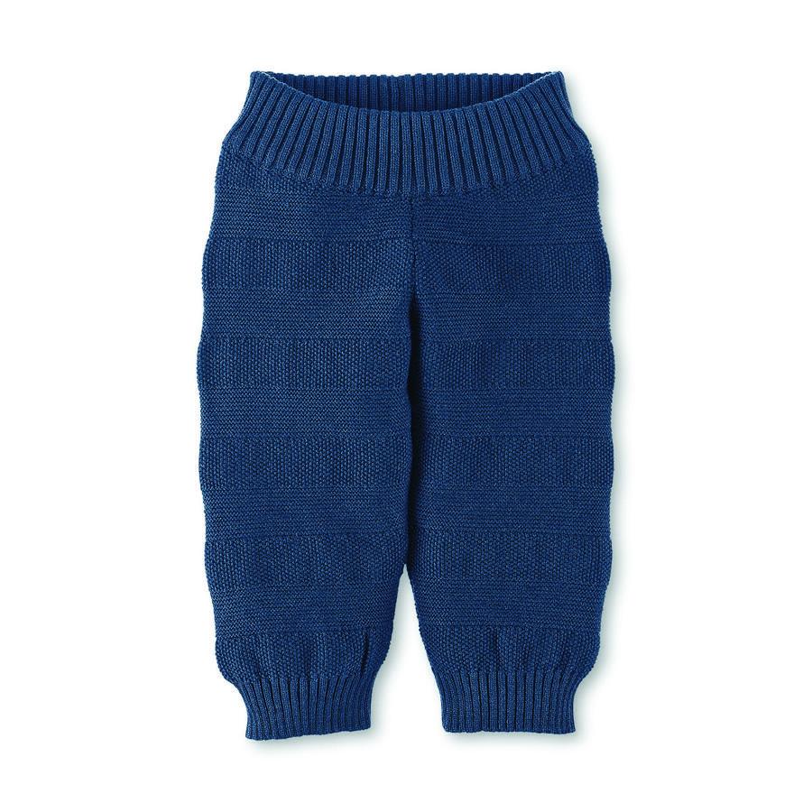Sterntaler pletené kalhoty tmavě modré