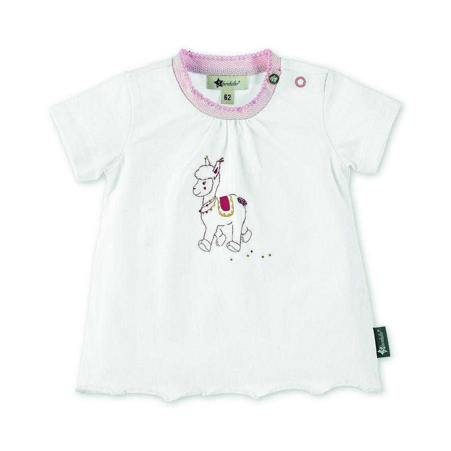Sterntaler Kurzarm-Shirt Lotte weiß