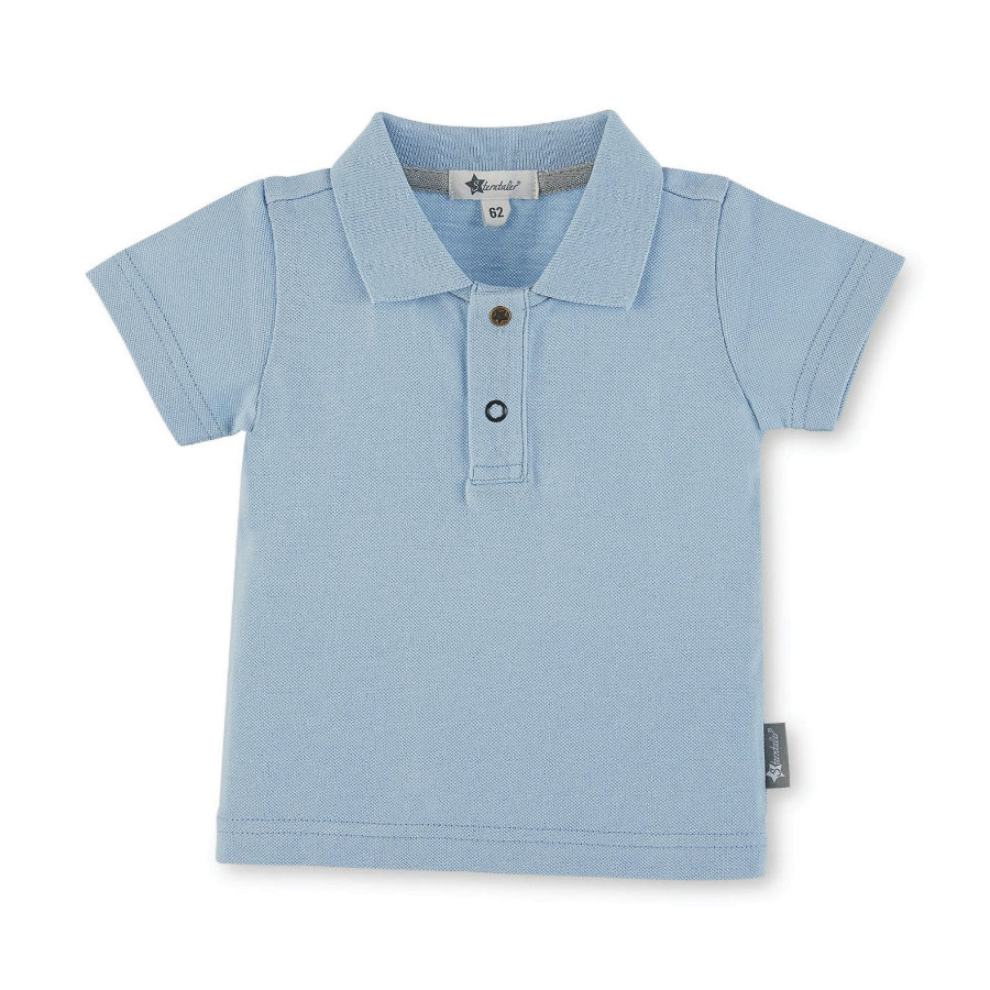 Sterntaler Boys Polo-Camiseta cielo