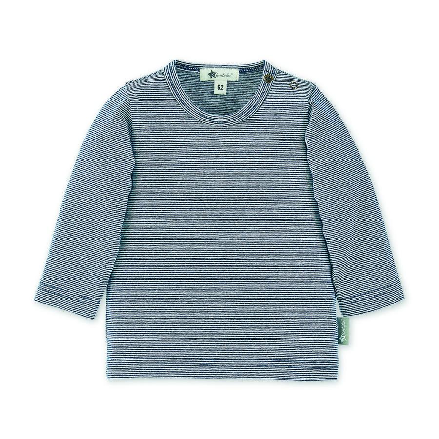 Sterntaler tričko s dlouhým rukávem tmavě modré