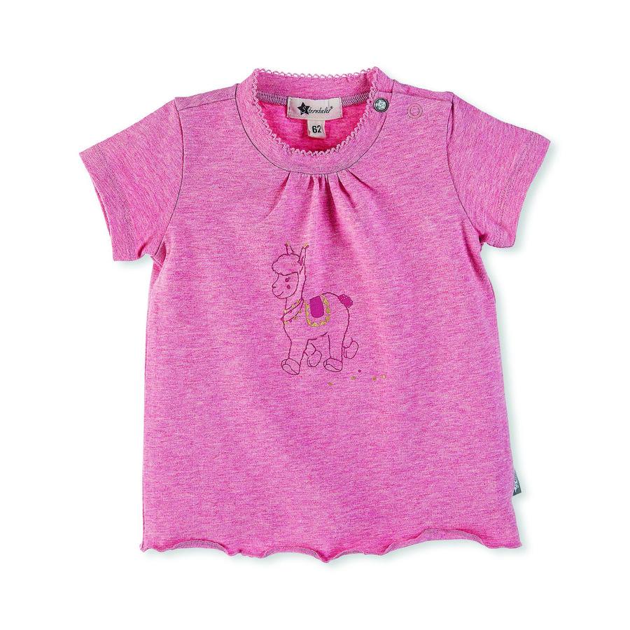Sterntaler tričko s krátkým rukávem Lotte růžová melange