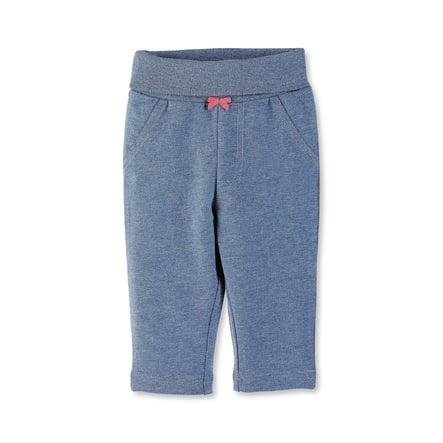 Sterntaler Girls Pantaloni blu chiaro melange