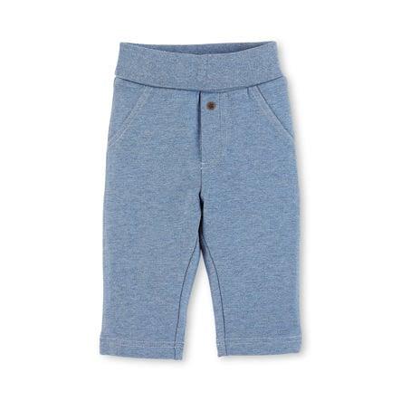 Sterntaler Boys Spodnie średnio-niebieski melange