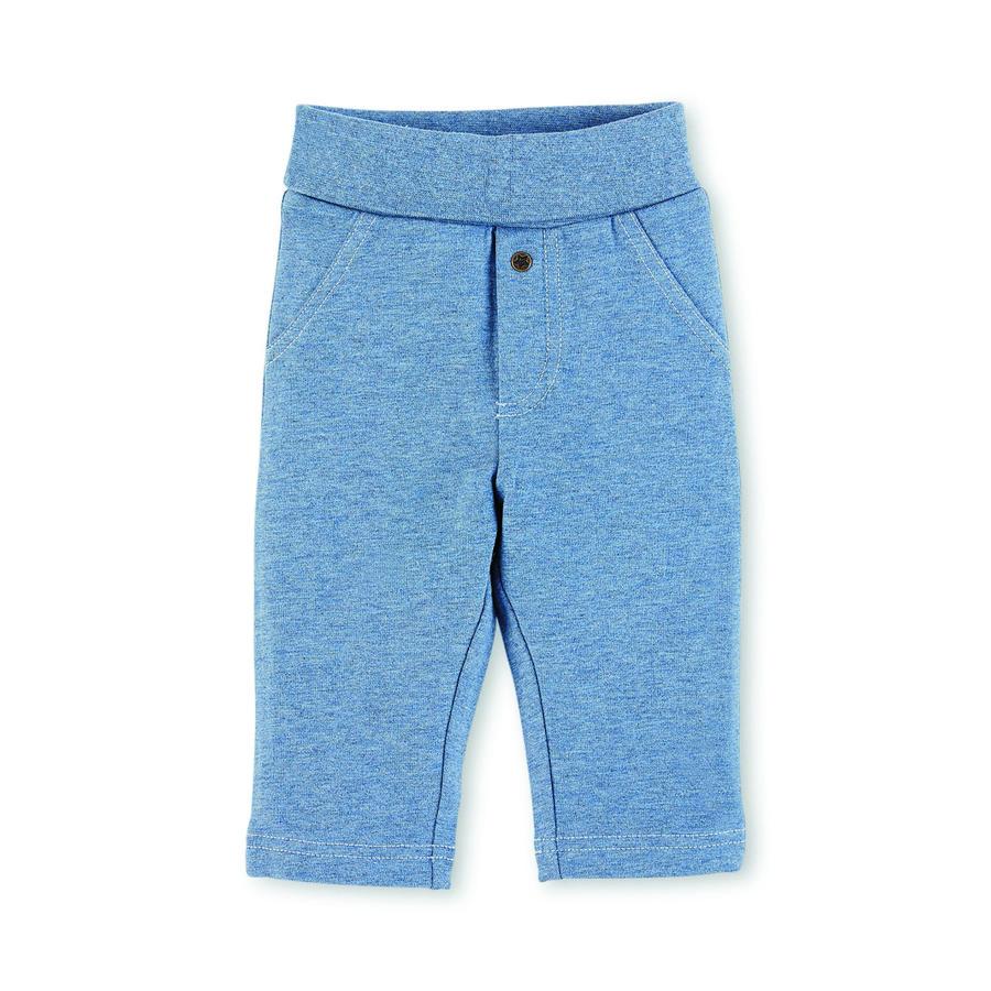 Sterntaler Boys Pantaloni blu chiaro melange