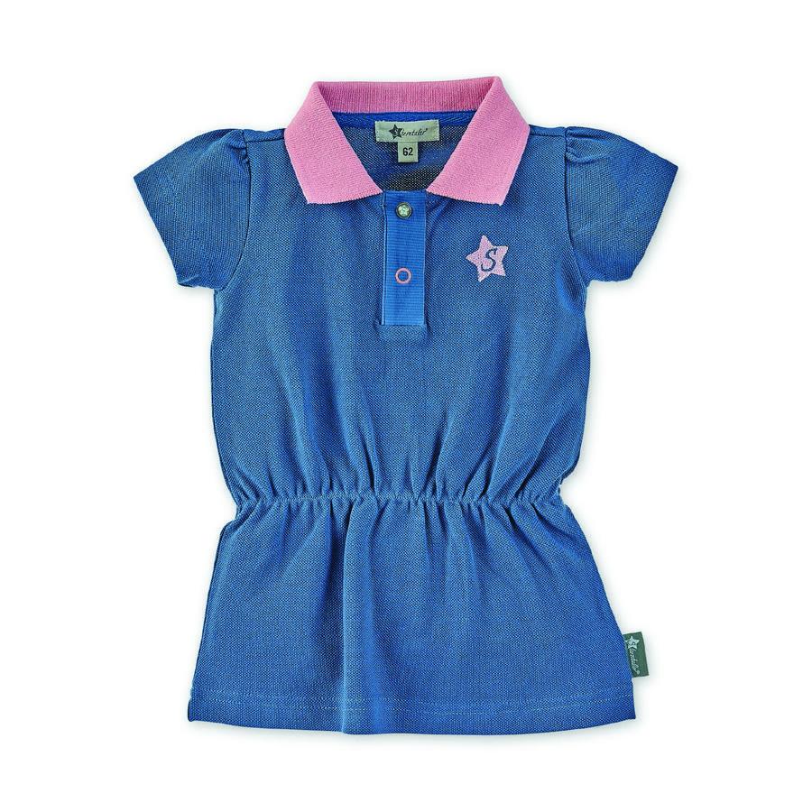 Sterntaler Polo-kjole blå