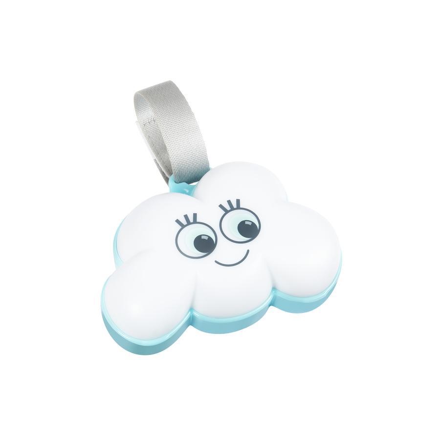 badabulle Veilleuse nuage blanc/bleu
