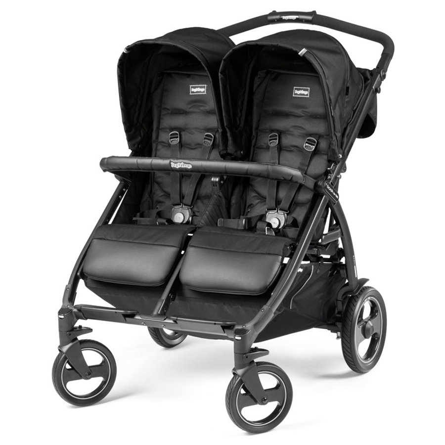 PEG-PEREGO Passeggino gemellare Book For Two Class Black
