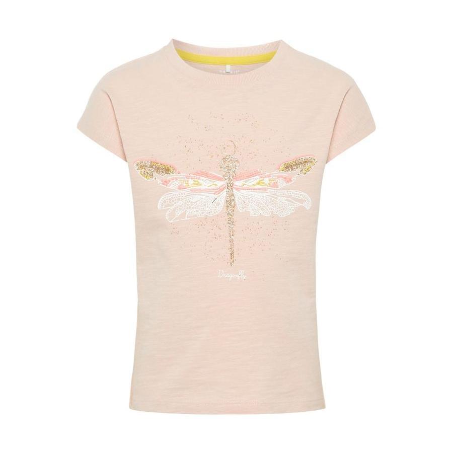 name it Girl s T-Shirt Haza Crème aux fraises
