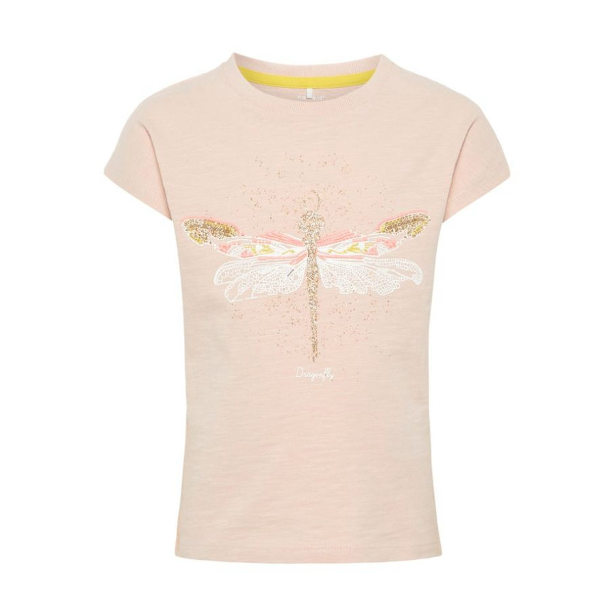 name it Girls T-Shirt Haza Strawberry Cream