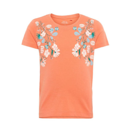 name it Girl s T-Shirt Viooltje emberglow