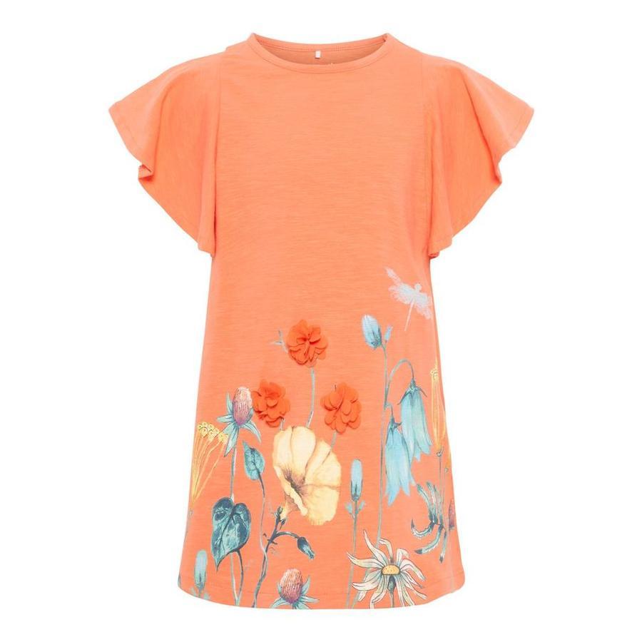 name it Girls T-Shirt Halizette Emberglow
