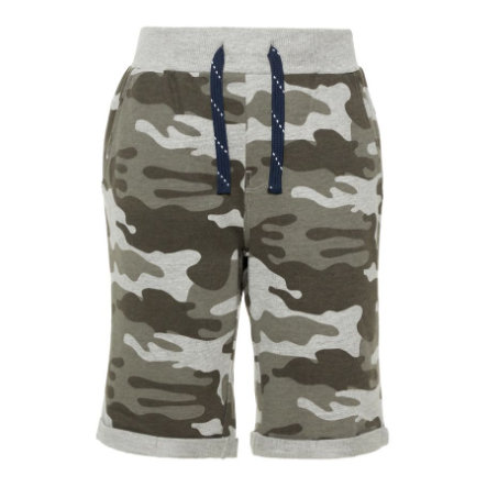 name it Boys Shorts Vermo grey melange