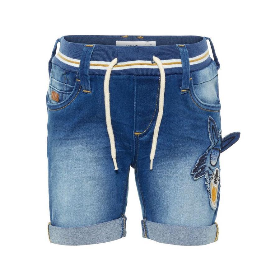 name it Boys Shorts Sofus light modrá džínovina