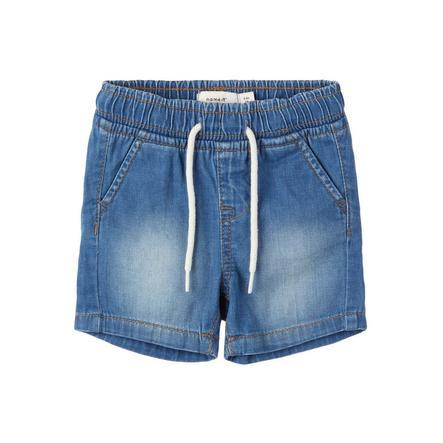 name it Short Nbmryan jean bleu clair
