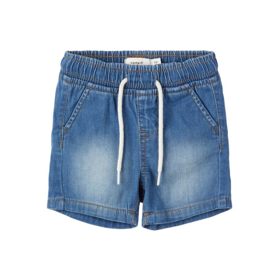 name it Shorts Nbmryan light blue denim