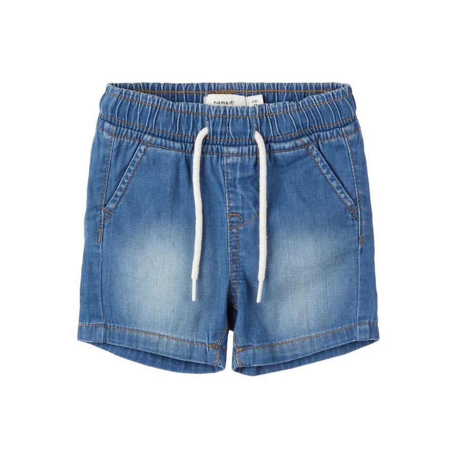 name it Shorts Nbmryan lyseblå denim