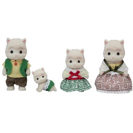 Sylvanian Families® Figurine la famille alpaga 5358