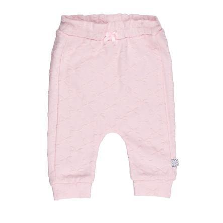 Feetje Sweatpants fancy stof strikjes alle van mij roze
