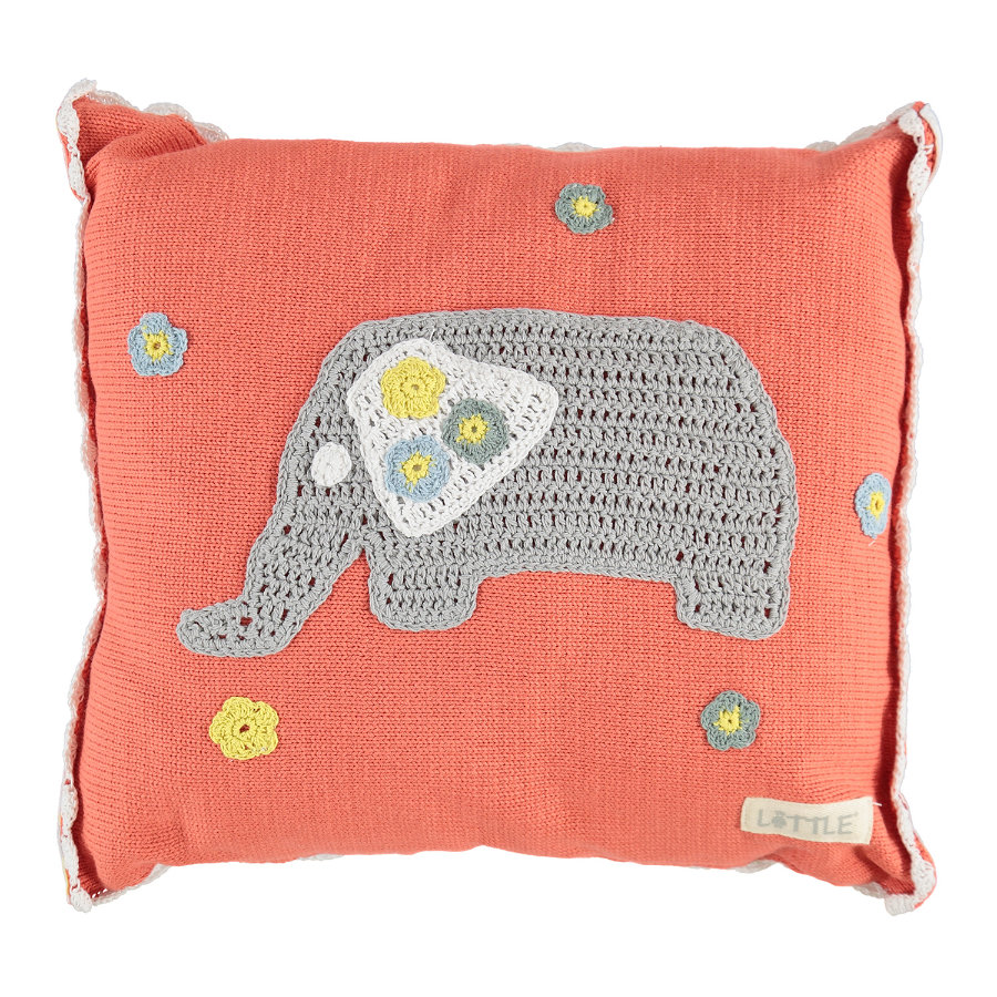LITTLE Kissen Juicy Beats Elefant 34x40 cm