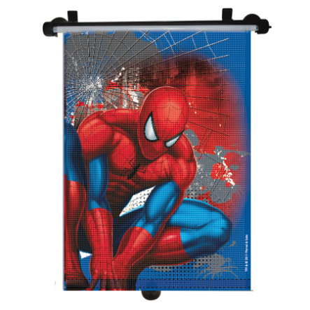 KAUFMANN Solskydd för bilen - rullgardin Spiderman