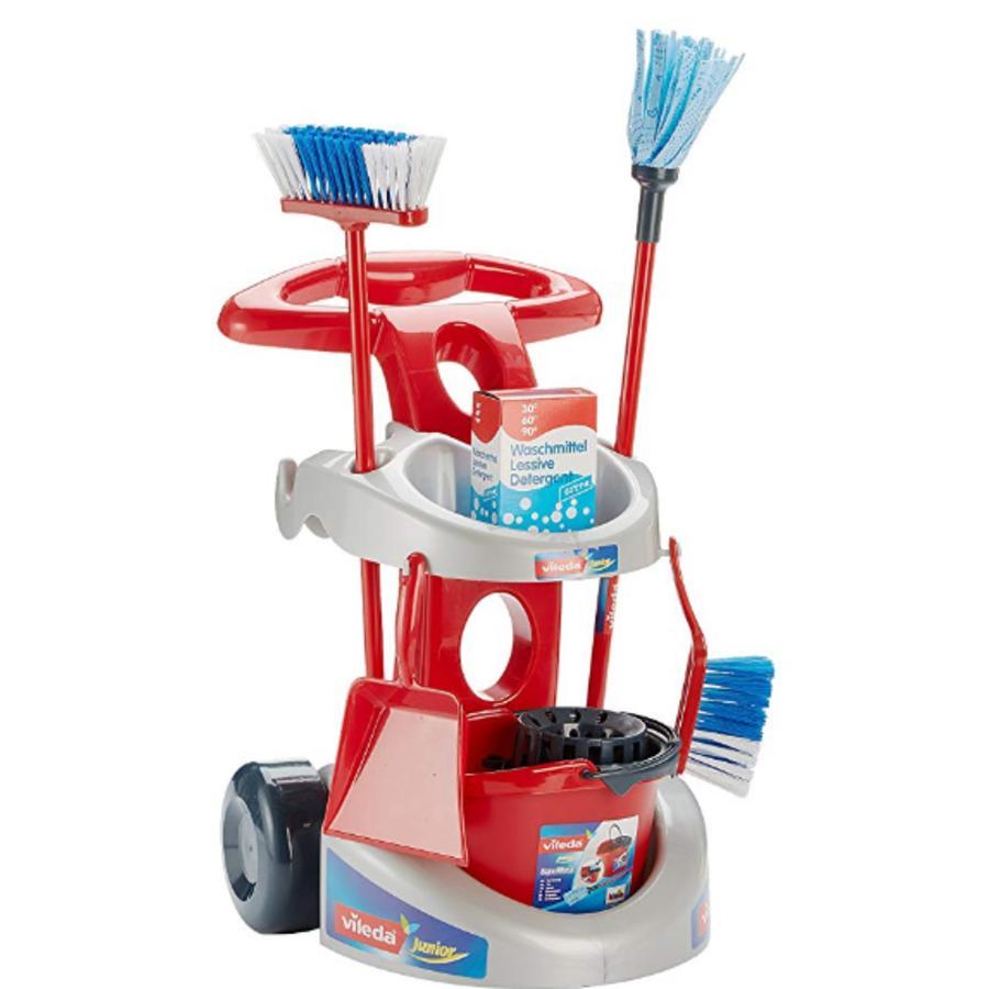 KLEIN Vileda rengøringsvogn deluxe (legetøj)