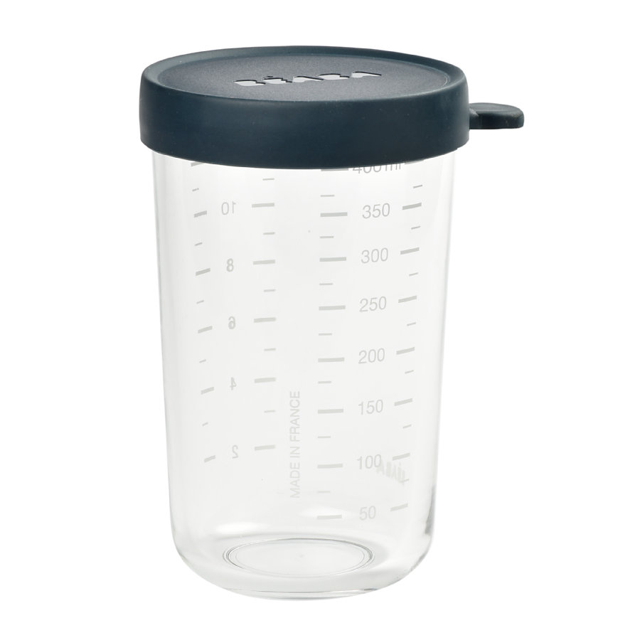 BEABA Aufbewahrungsbehälter 400 ml dunkelblau