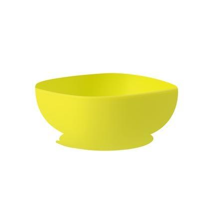 BEABA Silikonschüssel mit Saugnapf grün