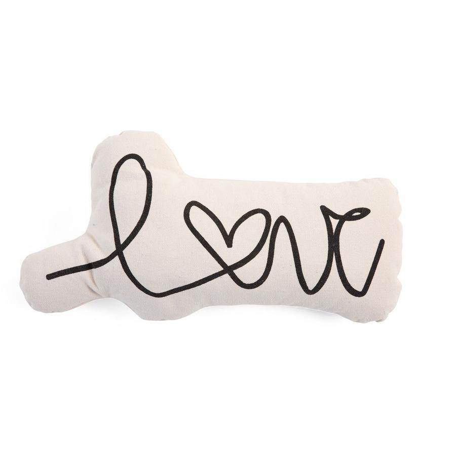 CHILDHOME Canvas Kissen Love Letter