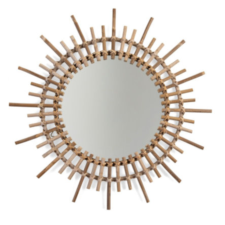 CHILDHOME Specchio in vimini Fondi 60 cm
